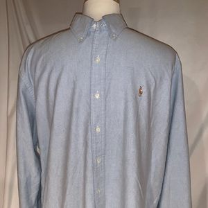 Polo Classic Oxford Cloth Button Down, XXL